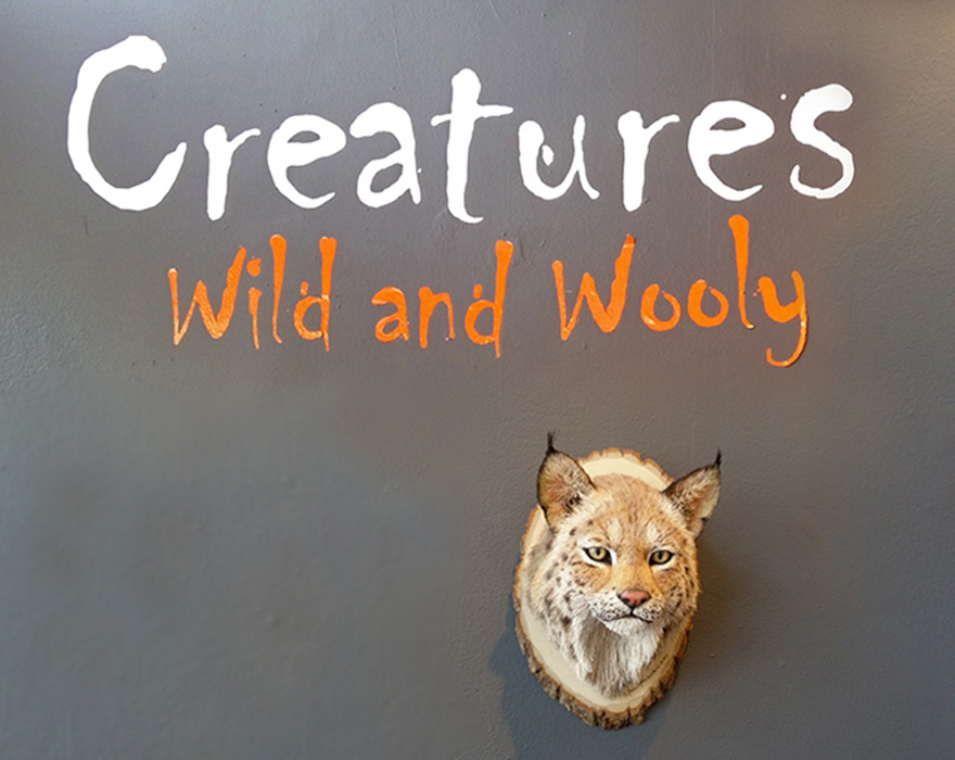 Florida CraftArt exhibition - Creatures: Wild and Wooly