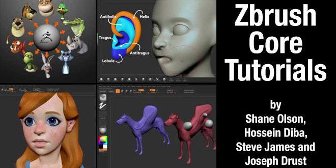 ZBrushCore tutorials